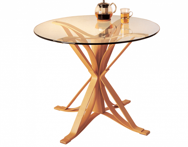 Gehry Face Off Cafe Table