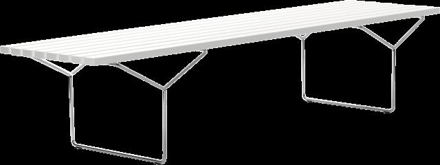 Bertoia Bench
