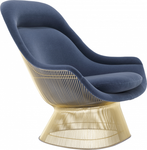 Platner Gold Easy Chair