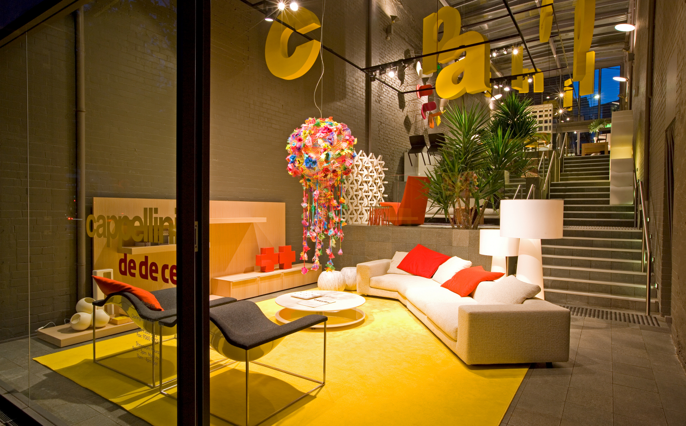 Cappelini in dedece Sydney showroom