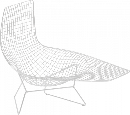 Bertoia Asymmetric Chaise Outdoor