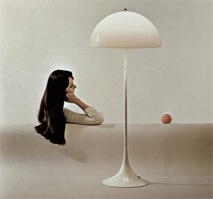 Panthella lamp by Verner Panton
