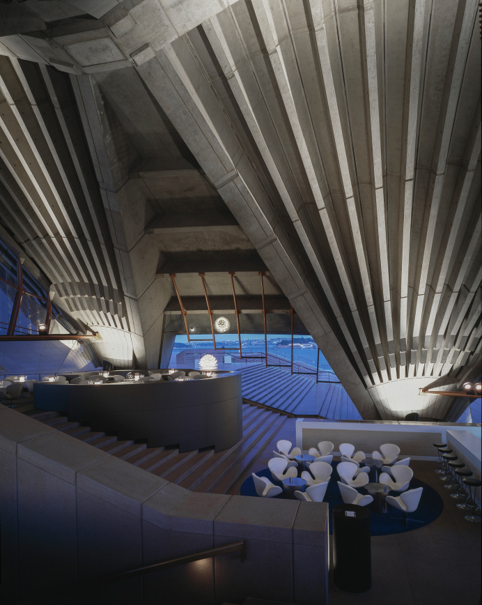 Bennelong restaurant interiors