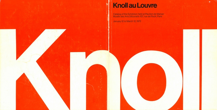 Knoll by Vignelli